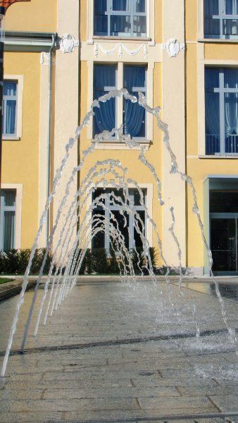 Brunnenmeisterei Weimar, Schreier, Bad Langensalza Jahnplatz Düsenfläche mit Beleuchtung