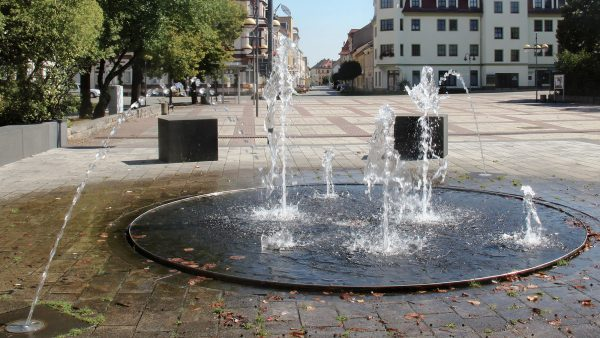 Brunnenmeisterei Weimar, Schreier, Groitzsch Marktplatz