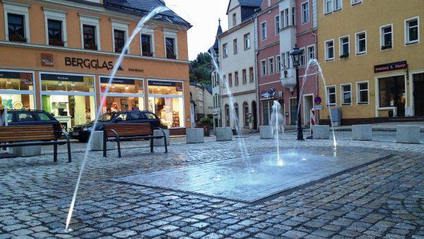 Brunnenmeisterei Weimar, Schreier, Schwarzenberg Marktplatz
