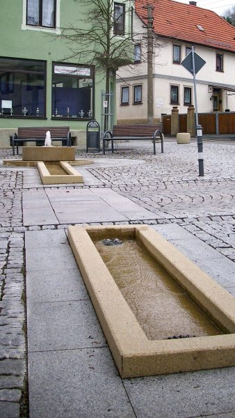 Brunnenmeisterei Weimar, Schreier, Schweina Marktplatz