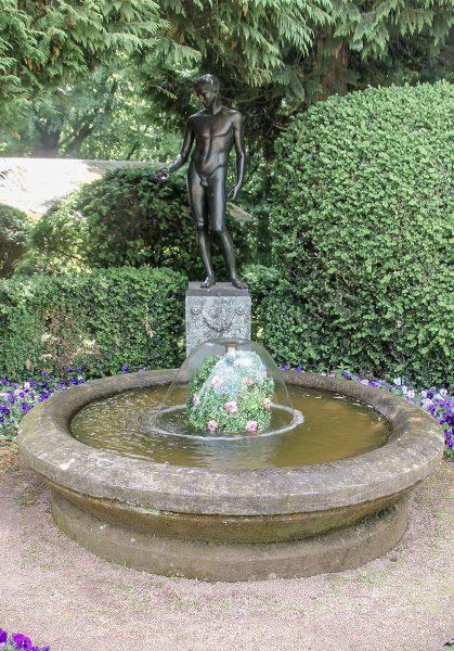 Altenstein Schlosspark Idolinobrunnen