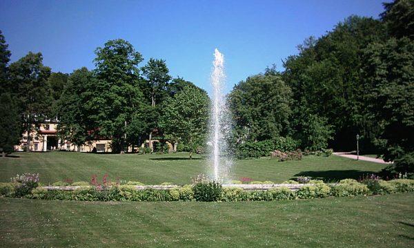 Altenstein Schloßparkfontaine