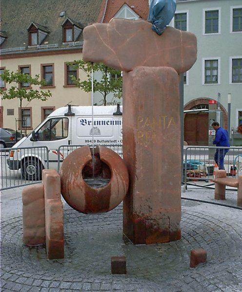 Borna Marktbrunnnen