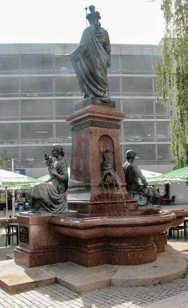 Chemnitz Saxoniabrunnen