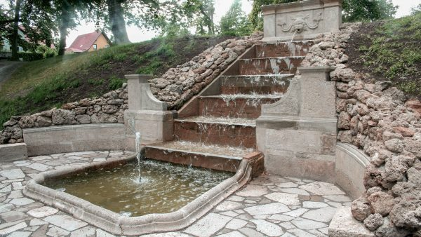 Ebeleben Schlosspark Kaskade