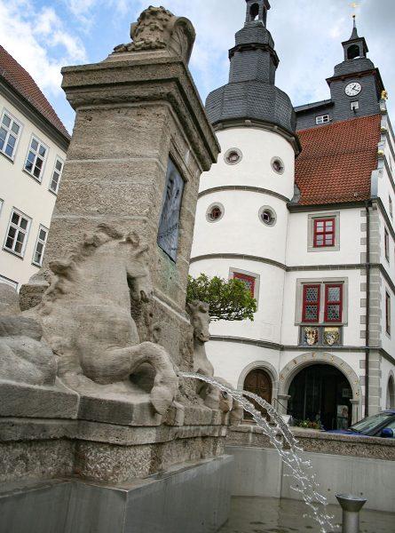 Hildburghausen Marktbrunnen