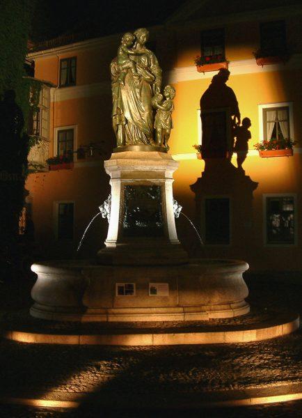 Historischer Donndorfbrunnen Weimar