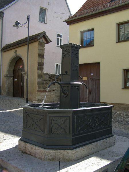Historischer Gussbrunnen Jena-Lobeda, Altstadt