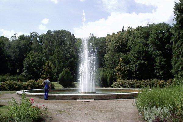 Ilmenau, Stadtpark Klassische Fontaine