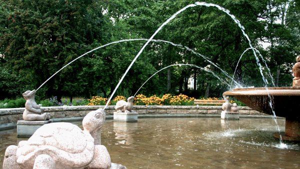 Brunnenmeisterei Weimar, Schreier, Jena Pradies Tierbrunnen