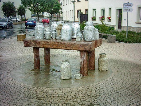 Kayna Milchkannenbrunnen