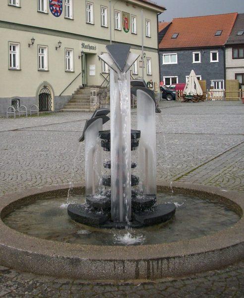 Langewiesen Marktbrunnen
