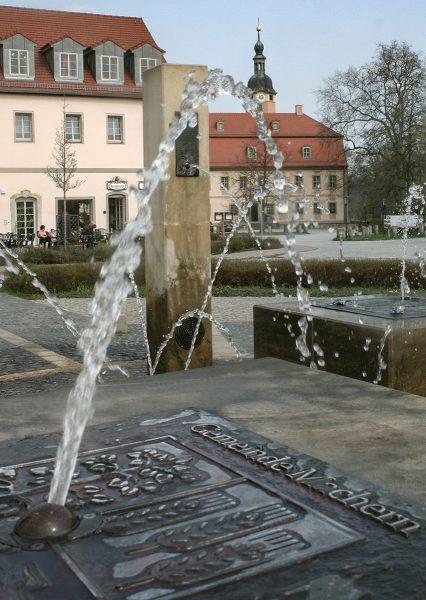 Machern Marktbrunnen