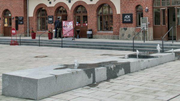 Markkleeberg Bahnhofsvorplatz