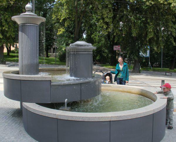 Plauen Rathausbrunnen