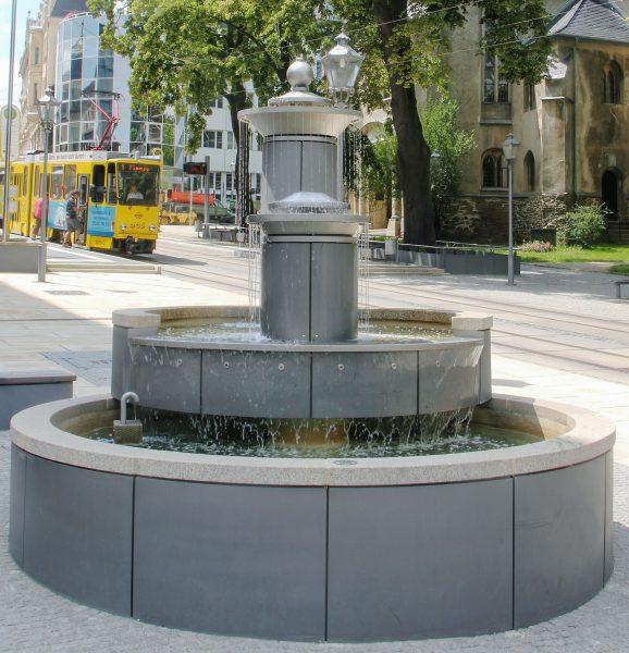 Brunnenmeisterei Weimar, Schreier, Plauen Rathausbrunnen