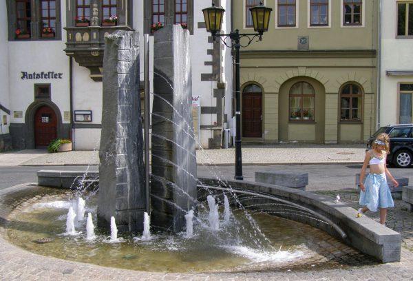 Brunnenmeisterei Weimar, Schreier, Saalfeld Marktbrunnen