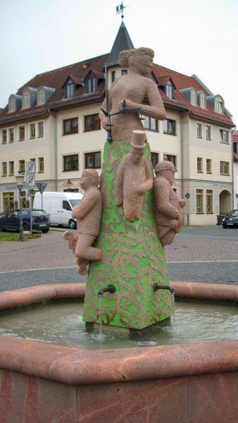 Brunnenmeisterei Weimar, Schreier, Schmölln Amtsbrunnen