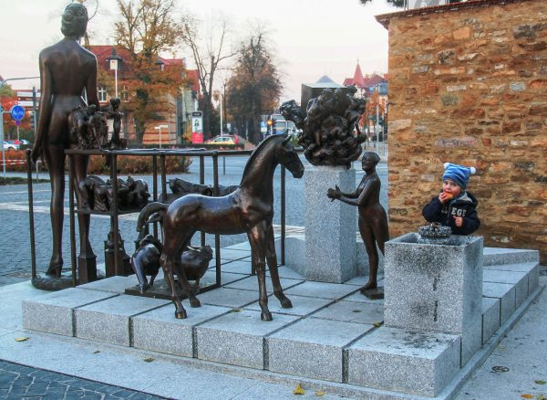 Brunnenmeisterei Weimar, Schreier, Sömmerda Markstraße Kunst