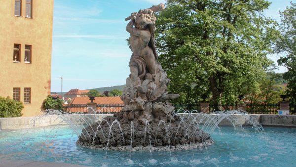 Brunnenmeisterei Weimar, Schreier, Sondershausen-Schlosshof-Herkulesbrunnen-(2)
