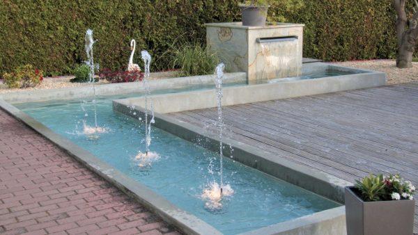Wasserbecken L-Form UWS