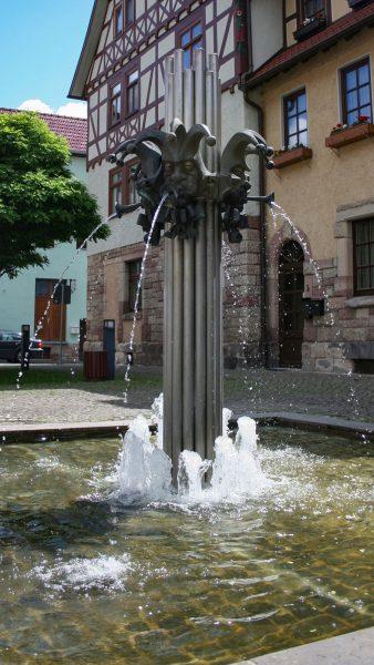 Brunnenmeisterei Weimar, Schreier, Wasungen Karnevalsbrunnen