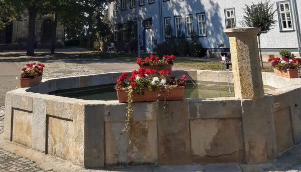 Brunnenmeisterei Weimar, Schreier, Wechmar Kirchplatz