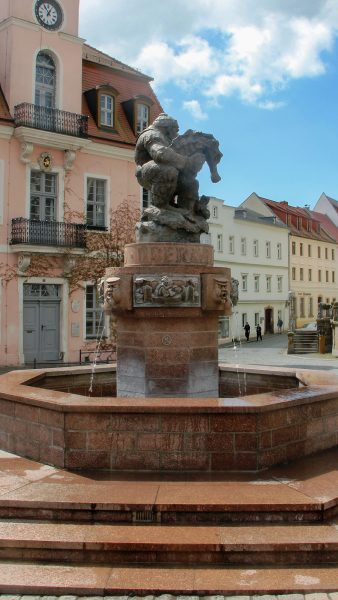 Brunnenmeisterei Weimar, Schreier, Wurzen Ringelnatzbrunnen